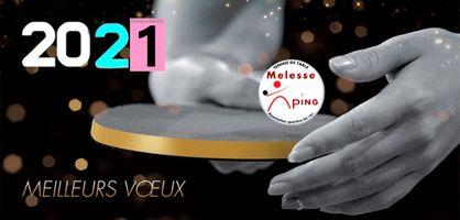 01/01/21 : Melesse Ping vous souhaite une bonne année 2021