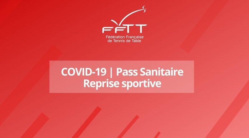 05/09/21 – Passe sanitaire : Reprise sportive